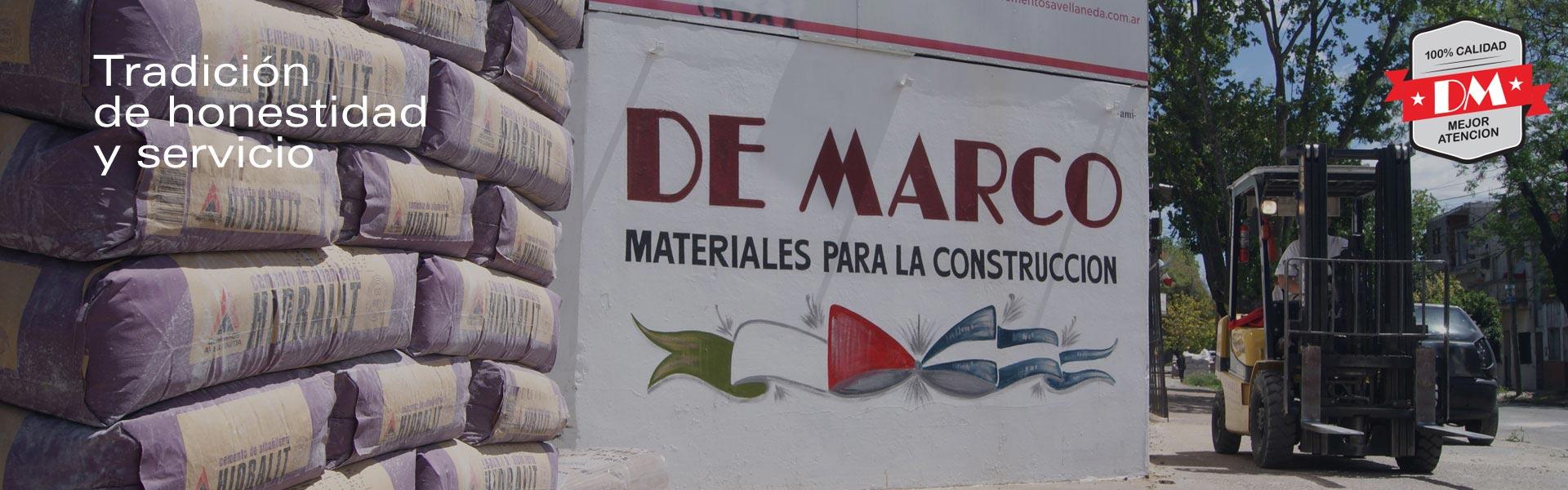 DE MARCO – Materiales para la Construcción